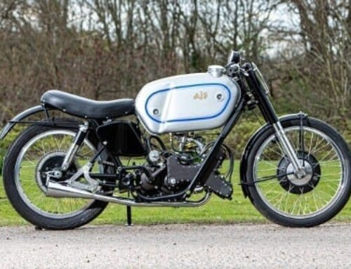 BONHAMS MOTORCYCLES OFFERS ULTRA-RARE AJS PORCUPINE